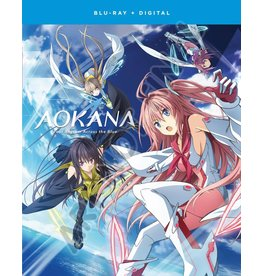 Funimation Entertainment AOKANA Four Rhythm Across The Blue Blu-Ray