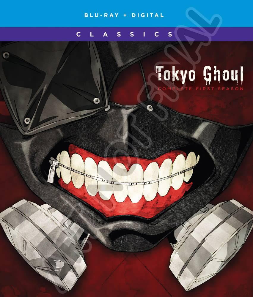 Funimation Entertainment Tokyo Ghoul Season 1 Classics Blu-Ray