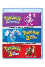 Viz Media Pokemon Movies 1-3 Blu-Ray