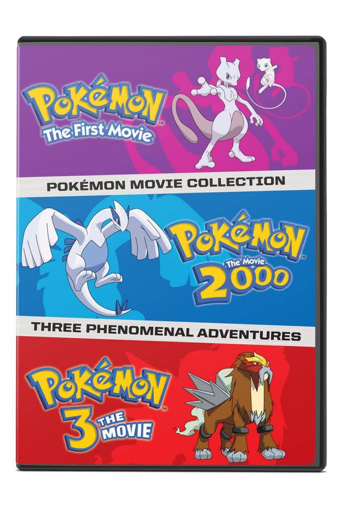 Viz Media Pokemon Movies 1-3 DVD
