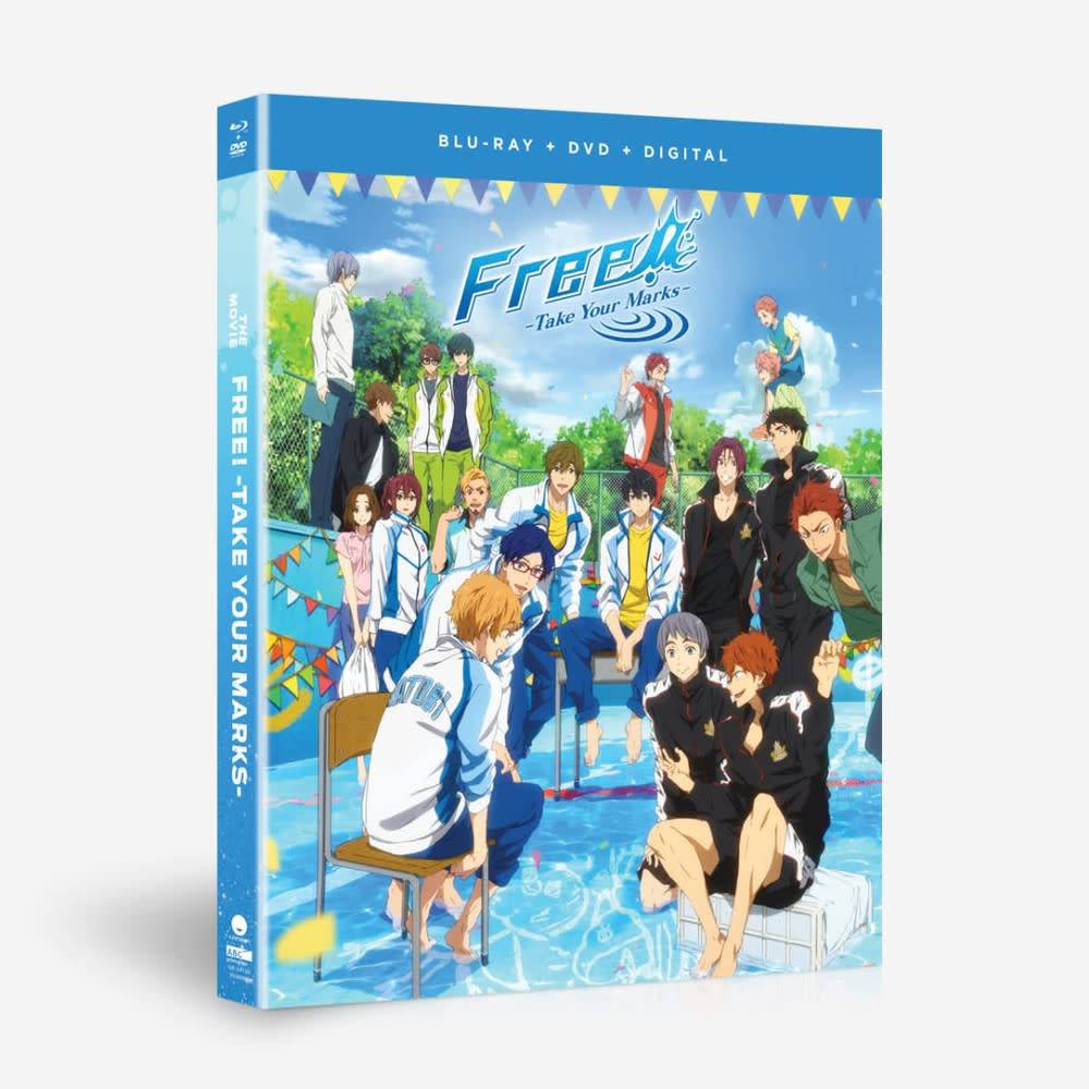Funimation Entertainment Free! Take Your Marks The Movie Blu-Ray/DVD
