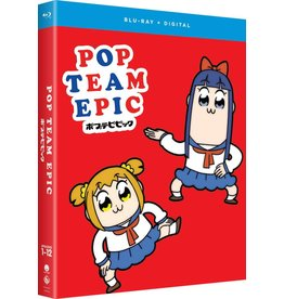 Funimation Entertainment Pop Team Epic Season 1 Blu-Ray
