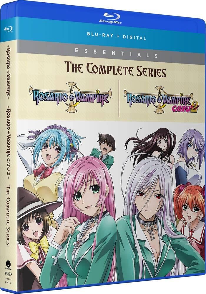 Funimation Entertainment Rosario+Vampire Complete Series Essentials Blu-Ray