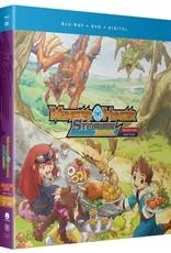 Funimation Entertainment Monster Hunter Stories Ride On Season 1 Part 4 Blu-Ray/DVD