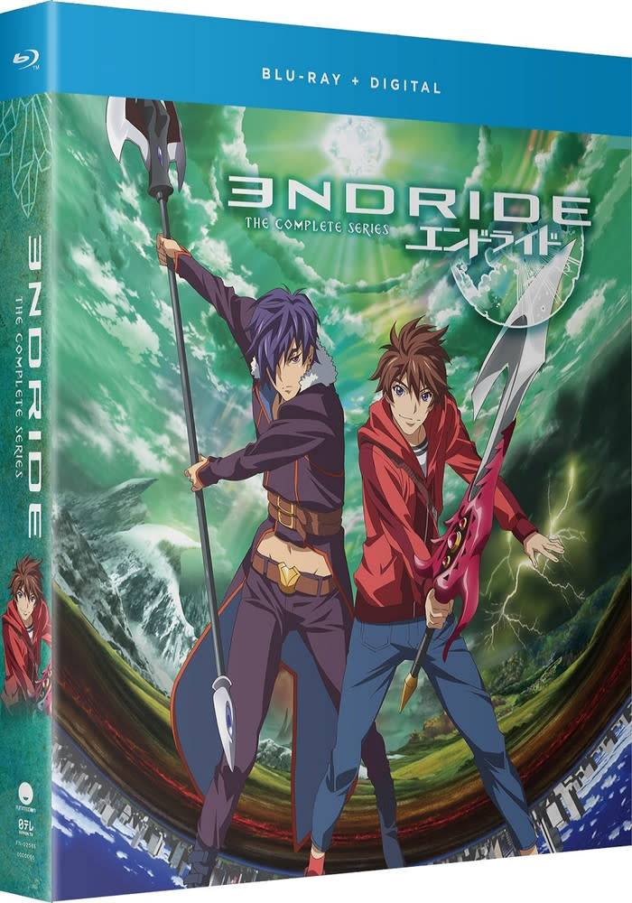 Funimation Entertainment Endride Complete Series Blu-Ray