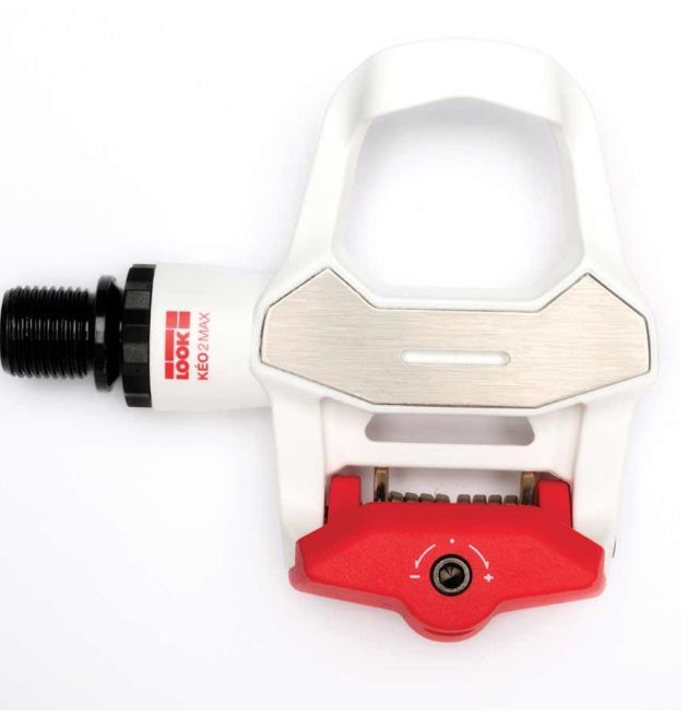 Look Look Keo 2 Max White/Red