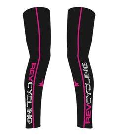 DNA REV Cycling Leg Warmers, Black