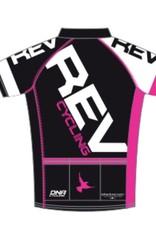 DNA REV Cycling Jersey, Ladies, Black DNA