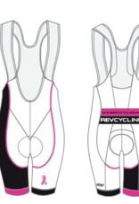 DNA REV Cycling Bibs, Men, White DNA