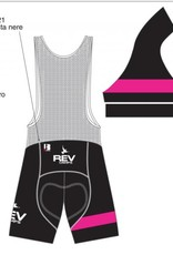 Biemme REV Camps Special Edition Black, Bibs, Ladies, Biemme