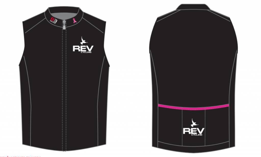 Biemme REV Cycling Special Black, Vest, Biemme