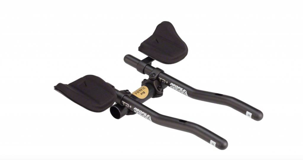 Profile Design Profile Design T2 Plus Aero Clip on Bars with J2 Bracket and F19 Armrest black alloy