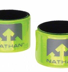 Nathan Nathan Reflex Reflective Snap Bands: Pair, Yellow