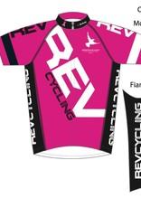Biemme REV Cycling  Jersey, Men, Pink, Biemme