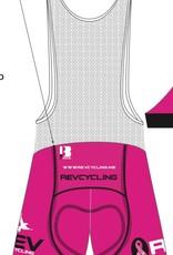 Biemme REV Cycling Bibs, Men, Pink, Biemme
