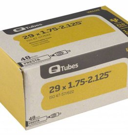 "Q-Tubes Q-Tubes Value Series Tube with 48mm Presta Valve: 29"" x 1.75-2.125"""