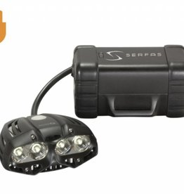 Serfas SERFAS HEADLIGHT 2500 lumen TRUE 2500 USB HEADLIGHT