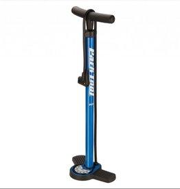 Park Park Tool PFP-8 Home Mechanic Floor Pump, Blue/Black
