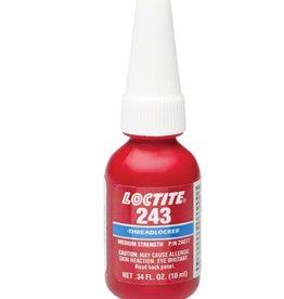 Loctite Loctite #243 Threadlocker Medium Strength for fastners 6-20mm, Oil resistant: 10ml (.34oz)