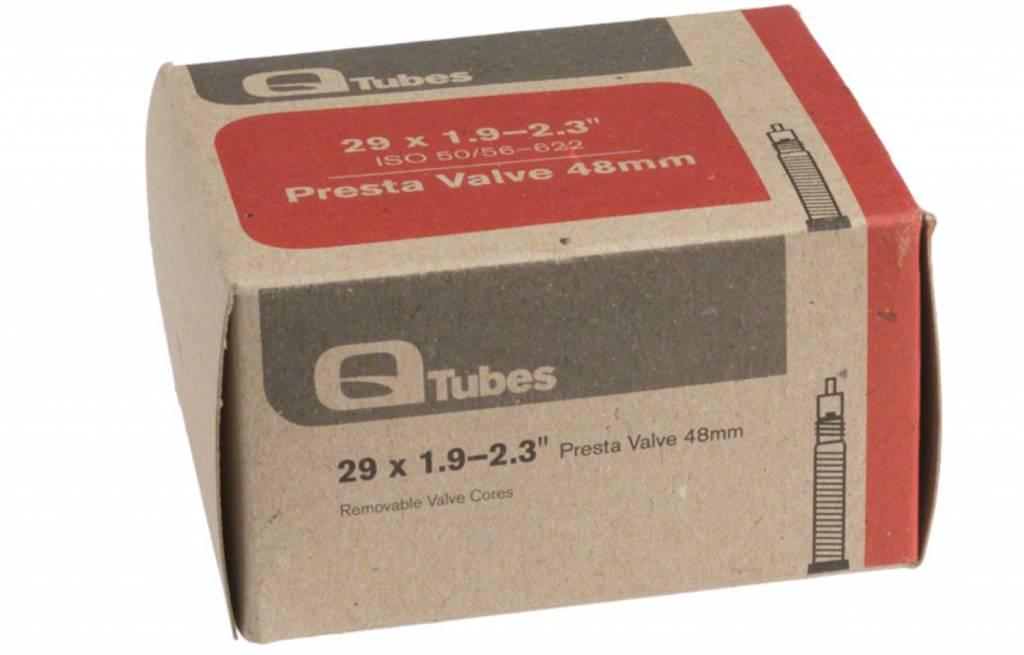 """Q-Tubes Q-Tubes 29"""" x 1.9-2.3"""" 48mm Presta Valve Tube"""
