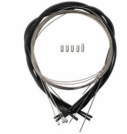 Campagnolo Campagnolo Ultra Low Friction Cable and Housing Set for Brakes and Derailleurs, Black