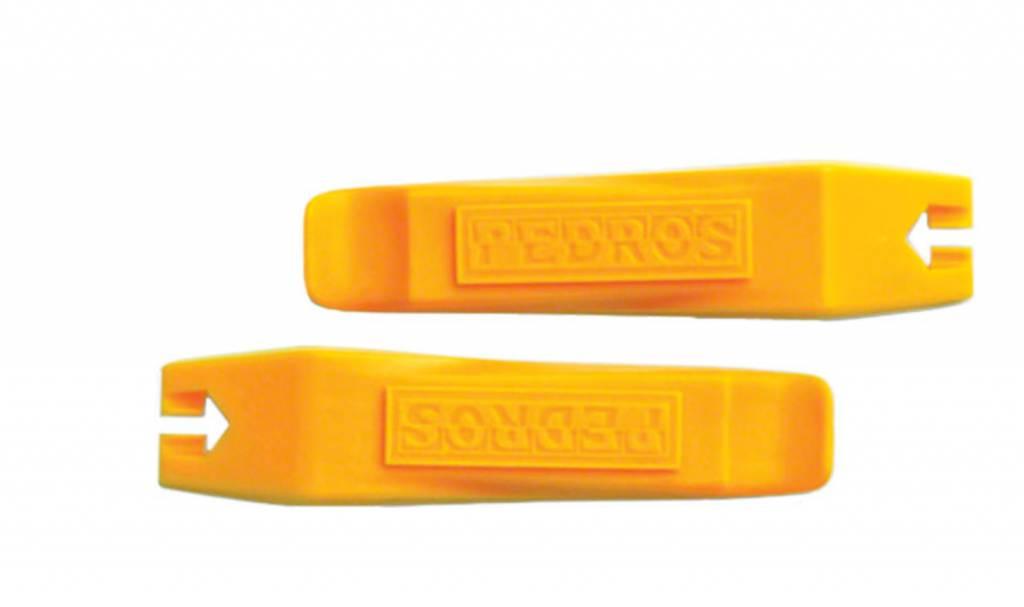 PEDRO'S Pedro's Tire Lever Pair, Yellow