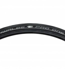 Schwalbe Schwalbe Pro One Tubeless Road Tire, 700 Folding Bead Black with One Star Compound and MicroSkin Casing