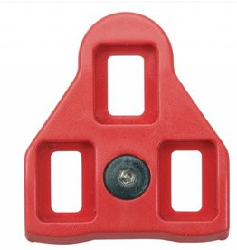 Wellgo Wellgo RC-5 Look ARC Compatible Cleats, Red 9d Float