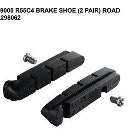 Shimano SHIMANO BR-9000 R55C4 CARTIDGE-TYPE BRAKE SHOE & FIXING BOLTS (2PAIR)