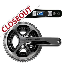Stages Power STAGES SHIMANO DURA-ACE 9000 COMPLETE CRANKSET CLOSEOUT