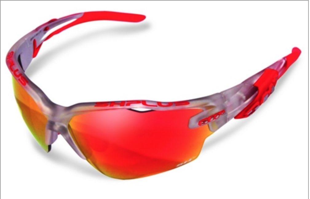 SH+ SH+ Sunglasses RG 5000 WX Crystal Silver/Red