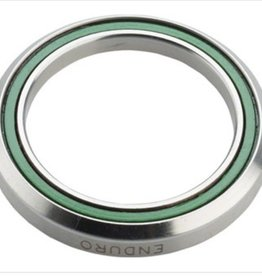 """ABI Headset Bearing ABI 1 1/4"""" 45 x 45 Degree Stainless Steel Angular Contact Bearing 34.1mm ID x 46.8mm OD x 7mm wide"""