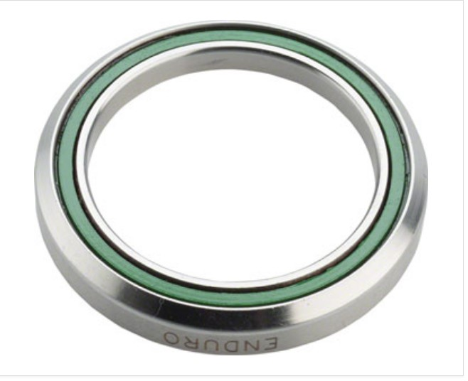 """ABI Headset Bearings ABI 1 1/8"""" 45 x 45 Degree Stainless Steel Angular Contact Bearing 30.5mm ID x 41.8mm OD x 8mm wide"""