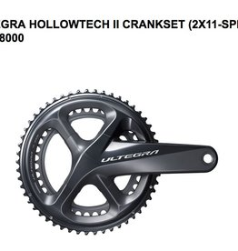 Shimano SHIMANO CRANKSET FRONT CHAINWHEEL, FC-R8000, ULTEGRA, FOR REAR 11-SPEED, HOLLOWTECH 2, W/O BB PARTS, IND.PACK