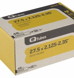 Q-Tubes Q-Tubes Value Series Tube with 48mm Presta Valve: 27.5 x 2.125-2.35""