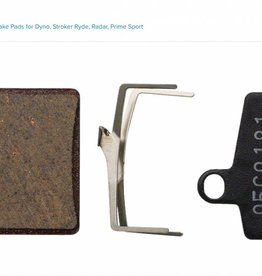 Hayes Hayes Semi-Metallic Disc Brake Pads for Dyno, Stroker Ryde, Radar, Prime Sport