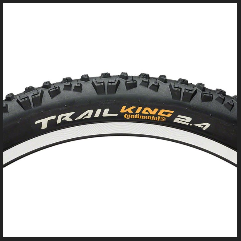 Continental CONTINENTAL Trail King 26 X 2.4 Fold Protection Apex + Black Chili