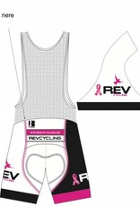 REV Cycling Short, Ladies, White DNA