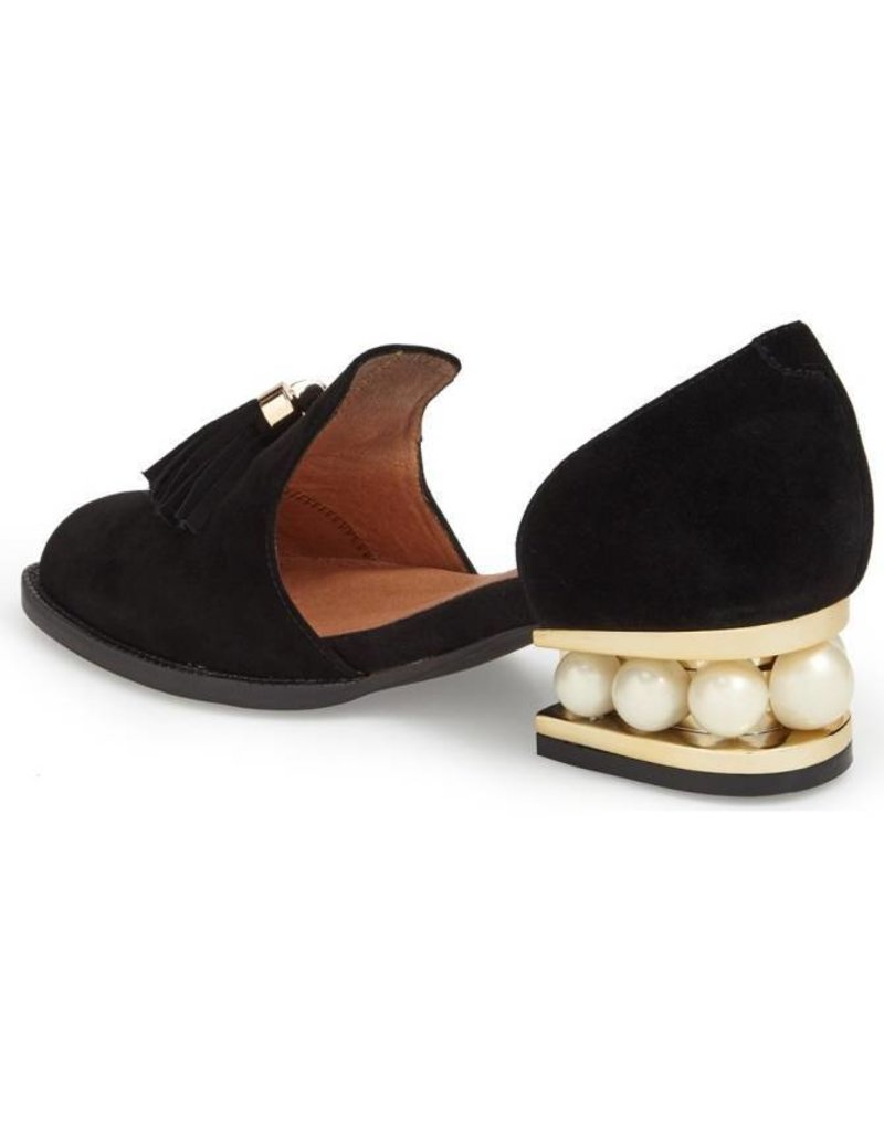 Jeffrey Campbell Civil Pearl Black