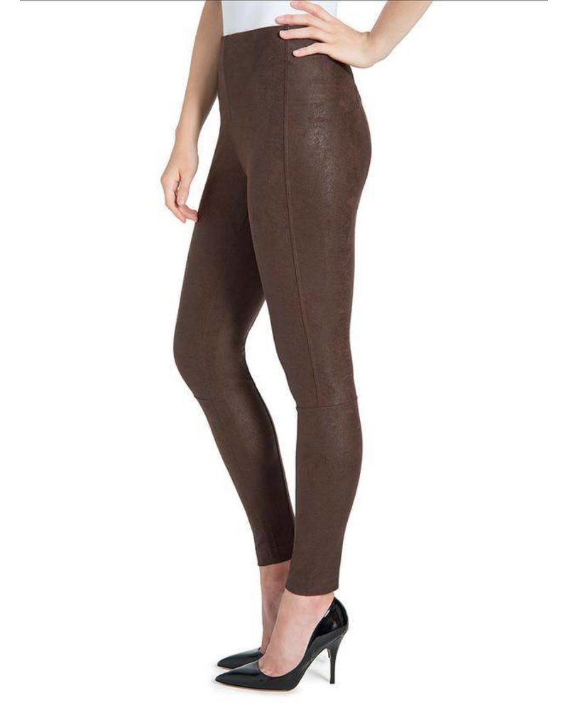 Lysse Bourbon Buffed Suede Legging