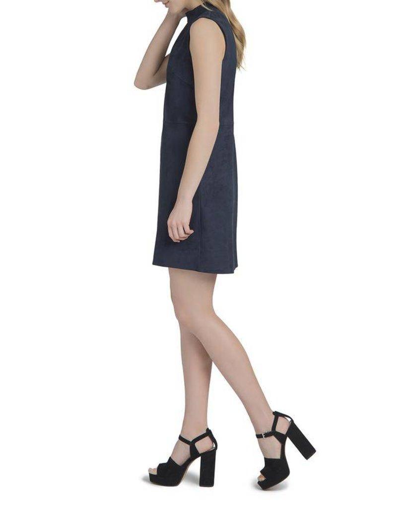 Lysse Midnight Suede Dress
