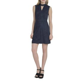 Lysse Midnight Suede Dress