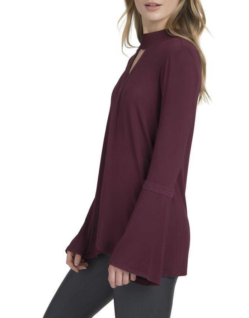 Lysse Ainsley Top in Currant