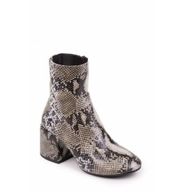 Jeffrey Campbell Ashcroft Snake Print Bootie