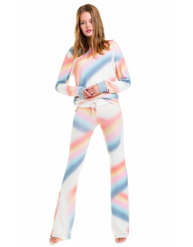 Wildfox Couture Cosmic Rainbow Baggy Beach Jumper