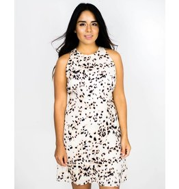 Knot Sisters Ingrid Leopard Mini Dress