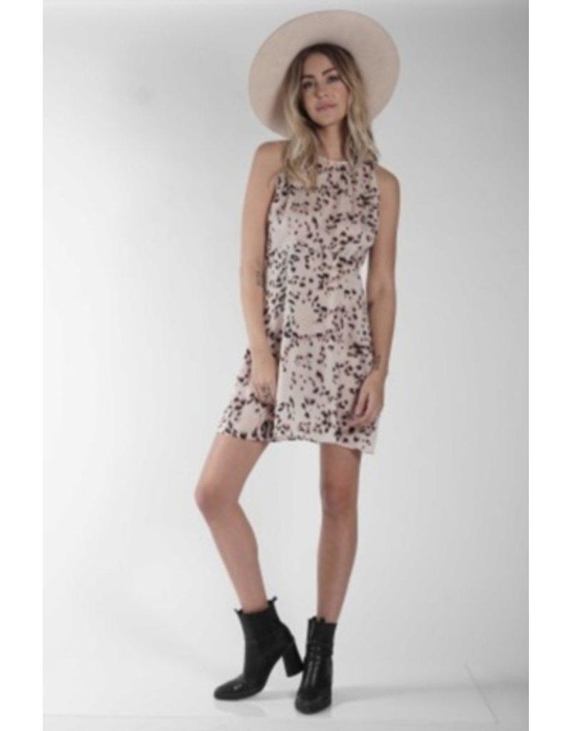 Knot Sisters Ingrid Leopard Mini Dress
