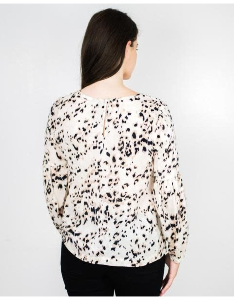 Knot Sisters Hendrix Leopard Blouse