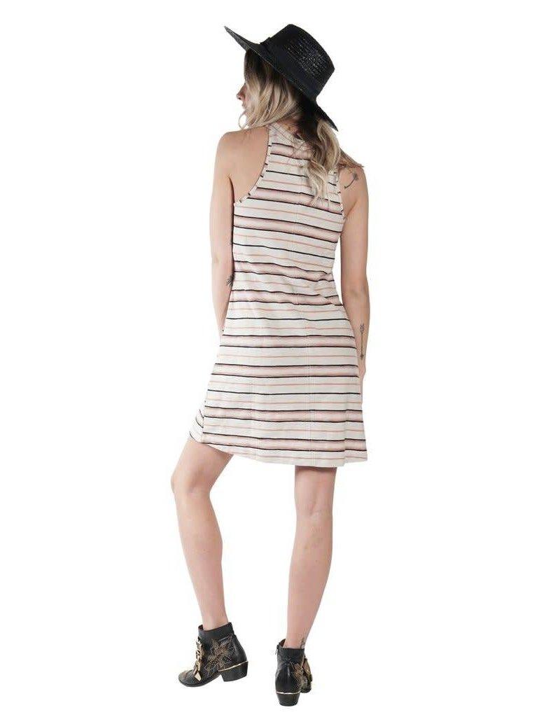 Knot Sisters Field Day Dress Serape Stripe
