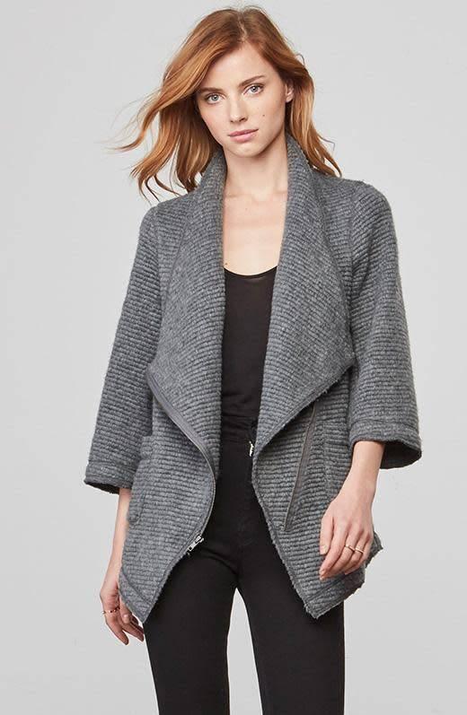 BB Dakota Shane Ribbed Woolen Jacket